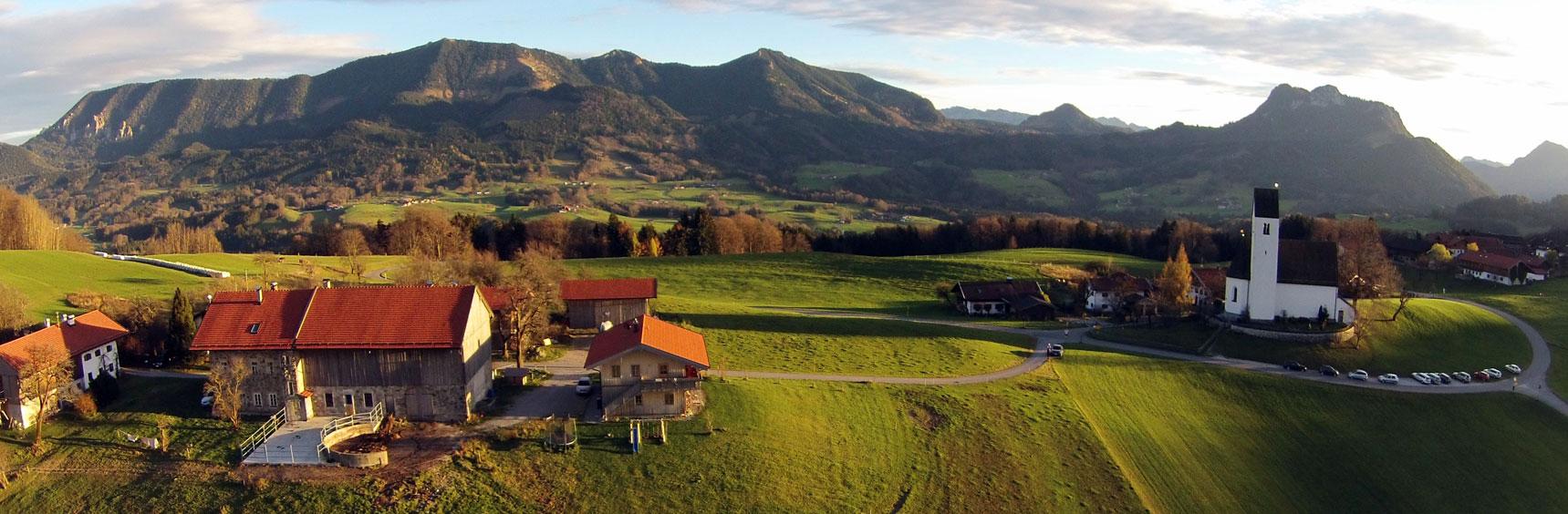 Luftbild des Rieplhofs